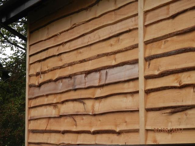 53 Waney edge Cedar Cladding