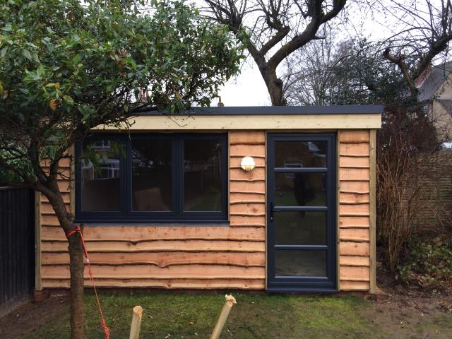 63/63 Shed Waney Edge Larch CO2 Timber