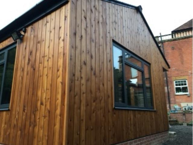 67 Shadow Gap Western Red Cedar Cladding by Co2timber Somerset