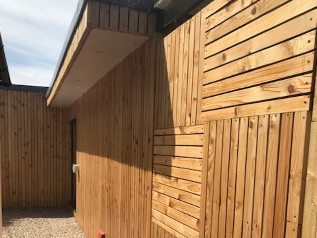 Co2 Timber Western Red Cedar Rainscreen Cladding 114
