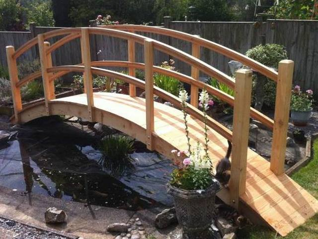 Cedar larch bridge