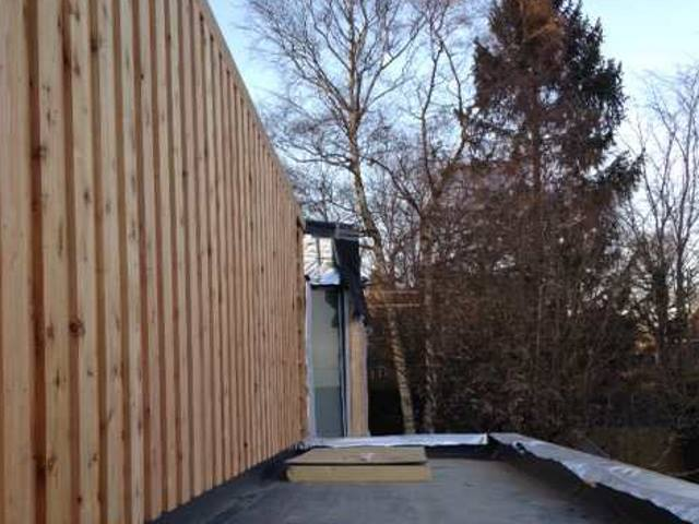 Co2 Timber board on board cedar cladding